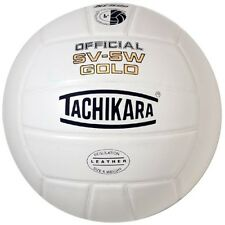 Tachikara SV5W Gold Premium Leather Volleyball SV5W-GOLD.NFHS Volleyball NEW