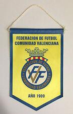Banderín / Pennant  Federación Valenciana de Fútbol FVF - VALENCIA - ESPAÑA