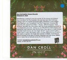 (EY784) Dan Croll, In/Out - 2013 DJ CD