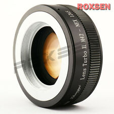 Zhongyi Lens Turbo II Focal Reducer Adapter M42 mount to Sony E NEX 5T 7 6 A6000
