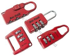 4 x High Quality Combination Padlock Locks Suitcase Locker Luggage Baggage NEW