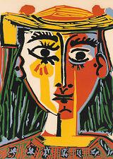Picasso # 07 cm 50x70 Poster Stampa su Carta Fotografica Opaca Matt, Papi Arte