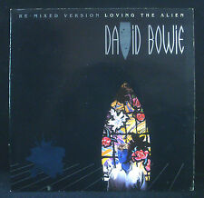 "7"" DAVID BOWIE - loving the alien (remix) / don't look down, Gatefold-Sleeve, nm"