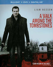 A Walk Among the Tombstones (Blu-ray/DVD/Digital HD, 2015) NEW w/ Slipcover