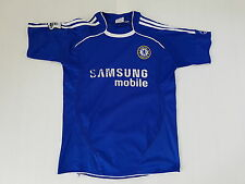 MAILLOT FOOTBALL PORTE WORN SHIRT ANCIEN VINTAGE MAGLIA CHELSEA BARCLAYS