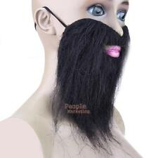 Fake Beard Artificial Moustache Costume Props Stick-on Whiskers Halloween Props