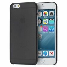 Thin Black Matte Hard Rigid Plastic Back Case Cover For iPhone 6S Plus 6 Plus