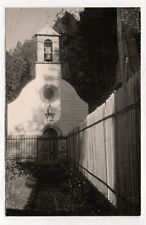 PHOTO ANCIENNE - Saint Privat 1954 France Vintage Église