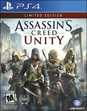 Assassin's Creed Unity Sony PlayStation 4 Ps4 Game Limited Edition Sealed
