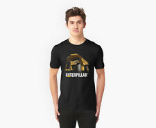 Great Caterpillar Haul truck Black T-Shirt, Excavator Ready. gudal.