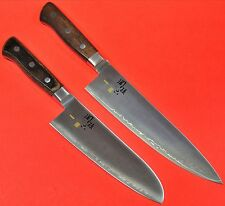 Japan KAI chef knife 200mm + santoku 165mm sekimagoroku 5000CL AE-5101 AE-5100