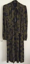 New Burberry Prorsum Silk Dress Aw13 Size 6