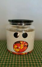 HALLOWEEN DECOR COOKIE/ CANDY GHOST JAR / CANISTER WITH SEALED LID