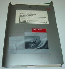 Werkstatthandbuch Audi A6 Typ C5 4B 4 Zylinder 20V Turbo Motor AWT ab 1998