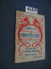 Fanucci MADAMA BUTTERFLAY libretto d'opera (64 D 3)