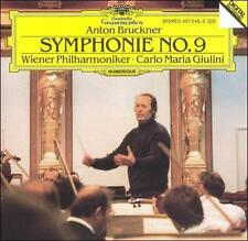 Bruckner: Symphonie No. 9 (CD, Jun-1989, DG Deutsche Grammophon (USA))