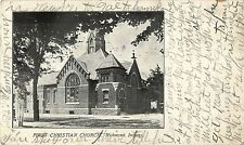 A View of the First Christian Church, Richmond IN Indiana 1909