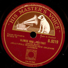 JELLY-ROLL MORTON'S NEW ORLEANS JAZZMEN Climax Rag/West End Blues 78rpm X2081