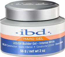 IBD LED/UV Builder Gel Intense White - 2oz/56g (61180)