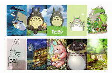 10pcs/set Japanese Anime My neighbor totoro card stickers 5.4x8.5cm