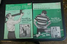 Vtg Sears How To Install Plastic Pipe Instruction Books Paperback Wast and Water
