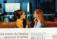 Publicité advertising 1968 (2 pages) Salle de Bain Ideal Standard