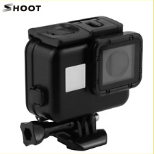 SHOOT XTGP377B 40M Diving Waterproof Case Without Lens Cap for GoPro Hero5 5