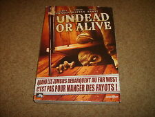 DVD UNDEAD OR ALIVE édition avec sur-étui cartonné - VF VOSTFR -  Bon état