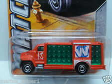 MATCHBOX 2012 MBX 1:64 MBX City AQUA KING #20 Red Diecast Car