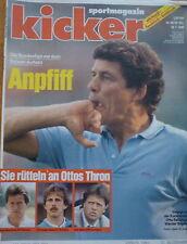 Kicker 1988 , Nr.58 , Otto Rehhagel , Meister Werder Bremen