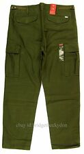 Levis Cargo Pants Mens Size 36 x 32 Color DARK MILITARY GREEN Relax Fit Levi's