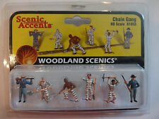 Woodland Scenics HO #1858  -  Chain Gang