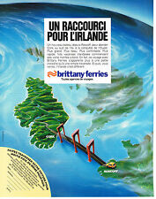PUBLICITE ADVERTISING   1982   BRITTANY FERRIES