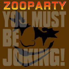 ZOO PARTY You Must Be Joking! LP . damned street punk glen matlock brian james