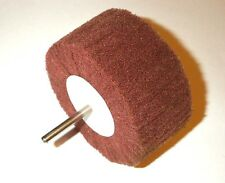 "3"" 75mm Scotch Type Abrasive Wheel Scuff Cylinder Hone 80 Grit Debur tool"