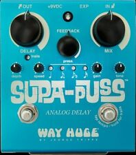 WAY Huge Supa PUSS ANALOG DELAY PEDALE FX / Stomp Box