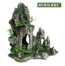 HERITAGE HB010 AQUARIUM FISH TANK ROCK FORMATION CAVE ORNAMENT DECORATION 28CM