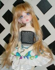 """DOLL Wig, Monique Gold Adorabel """"Pixie"""" Size 4/5 in Blonde (With bangs)"""