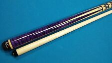 Players Flirt F-2610 Pool Cue Indigo Stained Tiger Maple FREE Shipping!!