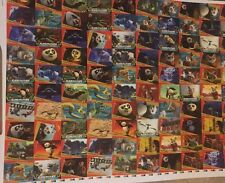 2008 Kung Fu Panda The Movie Uncut Sheet Of 50 Cards By Inkworks