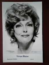 POSTCARD ACTRESS - VIVIAN BLAINE