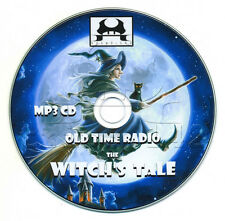 The WITCH'S TALE - Old Time Radio (OTR) Horror MP3 CD ....ScARy WiTcHeS sToRiES