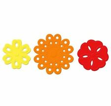 Lifestyle Crafts QuicKutz Detailz Embossing Die Set FLOWERS Spring 3-Dies DC0468