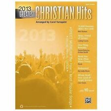 Greatest Hits Ser.: 2013 Greatest Christian Hits : Easy Piano (2013, Paperback)