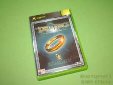 The Lord of the Rings The Fellowship of the Ring Microsoft XBox (Original) Game
