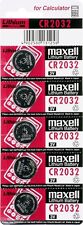 10 X PILAS BOTON MAXELL BATERIA CR2032 DE LITIO 3V LITHIUM BATTERY DL2032 5004LC