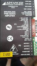 Advanced Motion Controls Brushless PWM Servo Amplifier B12A6F  (#P1B17)