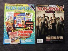 2011 NON-SPORTS UPDATE Magazine LOT of 4 VF+ 8.5 #1 3 4 5 The Walking Dead