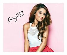 ARIANA GRANDE AUTOGRAPHED SIGNED A4 PP POSTER PHOTO 6