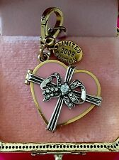 Juicy Couture 2009 LTD ED Box of Chocolate Valentine Charm Very Rare